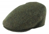 Failsworth Millinery Stornoway Flat Cap in Green/Brown