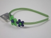 Flower Aliceband in Green