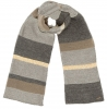 Alice Hannah Abba Multi Colour Scarf in Grey