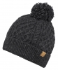 Boardman Bobble Ski Hat in Grey