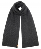 Boardman Cable Knit Scarf in Grey
