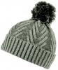 Boardman Jazz Chevron Rib Mix Knit Beanie Hat in Grey