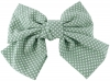 Daisy Daisy Large Polka Dot Bow Hair Clip in Grey