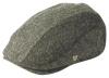 Failsworth Millinery Dalston Wool Flat Cap in Grey