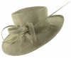 Hawkins Collection Occasion Hat in Grey