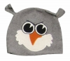Jiglz Fleece Animal Ski Hat in Grey