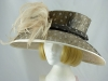 Gwyther Snoxells Mixed Colours Wide Brimmed Events Hat