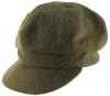 Failsworth Millinery Harris Tweed Bakerboy Cap in HT39 - Brown