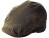 Failsworth Millinery Wax Flat Cap in Hunter-Brown
