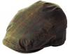 Failsworth Millinery Wax Flat Cap in Hunter-Green
