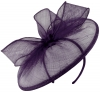 Failsworth Millinery Sinamay Disc in Indigo