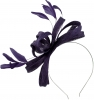 Failsworth Millinery Sinamay Loops Fascinator in Indigo