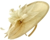 Failsworth Millinery Mini Disc in Ivory-Gold