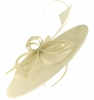 Failsworth Millinery Butterfly Ascot Disc in Ivory
