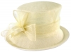 Failsworth Millinery Loops Wedding Hat in Ivory