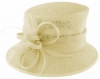 Failsworth Millinery Loops and Feathers Wedding Hat in Ivory