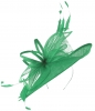 Max and Ellie Ascot Disc Headpiece in Jade