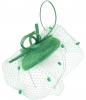 Max and Ellie Pillbox Fascinator in Jade