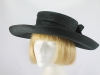 Joan Biggs Black Formal Hat