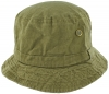 SSP Hats Faded Denim Effect Bush Hat in Khaki