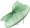 Failsworth Millinery Sinamay Disc in Lagoon