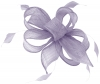Hawkins Collection Sinamay Fascinator in Lavender