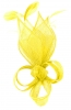 Max and Ellie Lily Comb Fascinator in Lemon