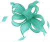 Hawkins Collection Sinamay Fascinator in Light Emerald