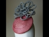 Esther Louise Millinery Crin Smartie Hat in Light Pink
