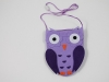 Girls Owl Bag in Lilac