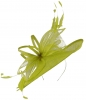 Max and Ellie Ascot Disc Headpiece in Lime