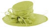 Max and Ellie Ascot Hat in Lime