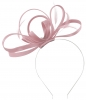 Failsworth Millinery Satin Loops Aliceband Fascinator in Lupin