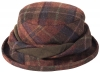 Failsworth Millinery Mallaleius Wool Hat in M27 - Brown