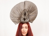 Matthew Eluwande Millinery Black and Natural Events Headpiece