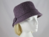 Bow Winter Hat in Mauve