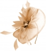 Elegance Collection Events Headpiece in Metallic Nude