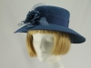 Mid Grey Blue Formal Hat