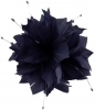 Failsworth Millinery Feather and Beads Fascinator in Midnight