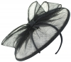 Failsworth Millinery Sinamay Disc in Midnight