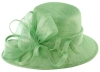 Hawkins Collection Asymmetrical Wedding Hat in Mint