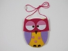Girls Owl Bag in Mixed Colours