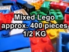 Lego Mixed Set with approx four hundred pcs / Half KG