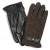 Failsworth Millinery Harris Tweed Gloves in Mocha