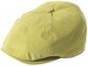 Failsworth Millinery Hudson Microfibre Bakerboy Cap in Mustard
