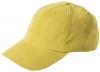Failsworth Millinery Microfibre Baseball Cap in Mustard