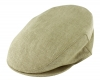 Failsworth Millinery Irish Linen Cap in Natural