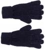 Boardman Finley Cable Knit Gloves in Navy