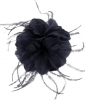 Failsworth Millinery Feather Fascinator in Navy