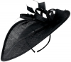 Failsworth Millinery Shaped Saucer Headpiece in Navy